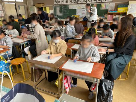「ひかるどろだんご」づくり体験講座 矢巾町立煙山小学校