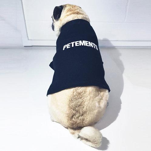 Black Petements T-Shirt