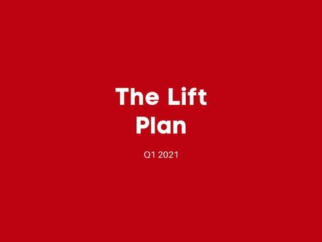 Q1 2021: The Lift Plan Newsletter