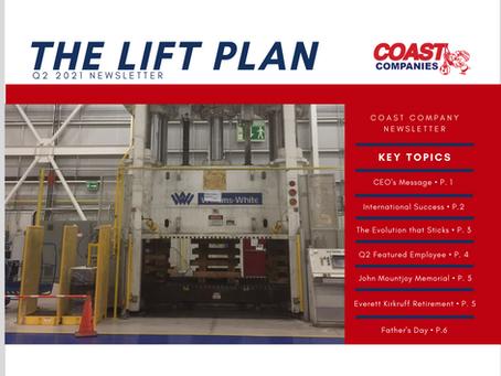 Q2 2021: The Lift Plan Newsletter
