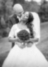 photo mariage noir et blanc