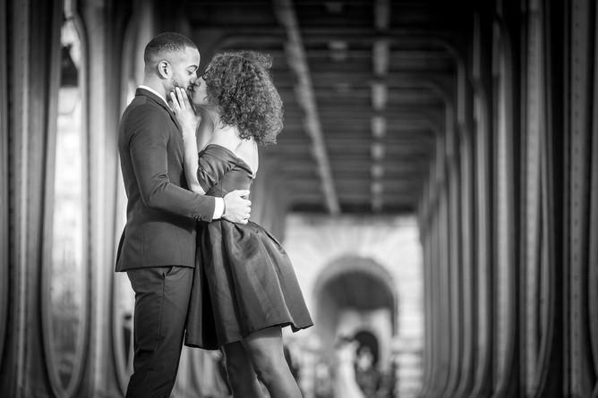 photo de couple Paris