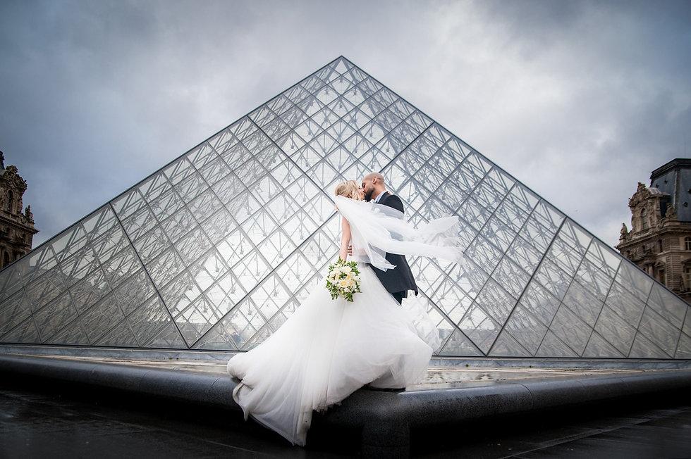 photgraphe mariage louvre