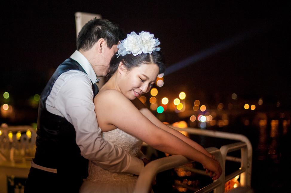 photographe mariage péniche paris