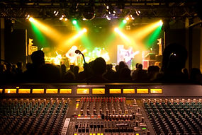 Mixing FOH concert sound