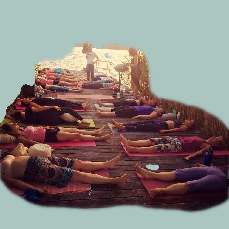 breath in, breath out // yoga + handpan