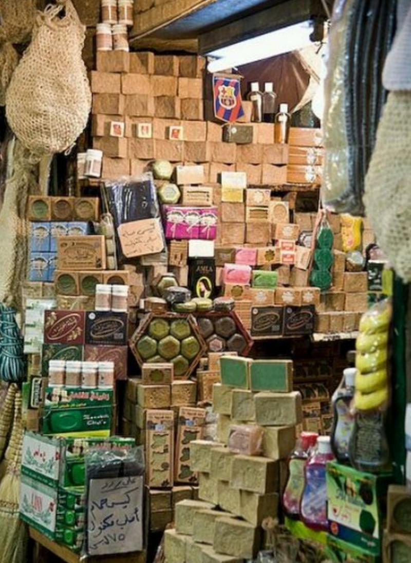 傳統的手工古皂技術一直流傳至今,深受當地人喜愛。