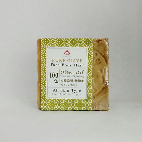 100%初榨冷壓橄欖油古皂 PURE OLIVE 100% OLIVE OIL SOAP
