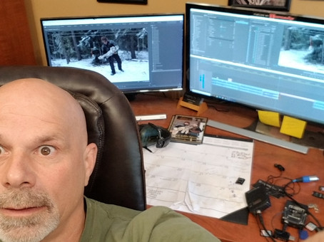 Arrrg!! Back in the Edit Suite!!