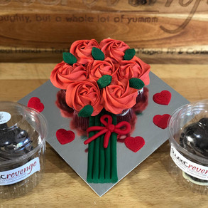 Variety of cupcakes - say happy birthday