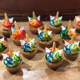 Mini Unicorn Cupcakes by Sweet Revenge