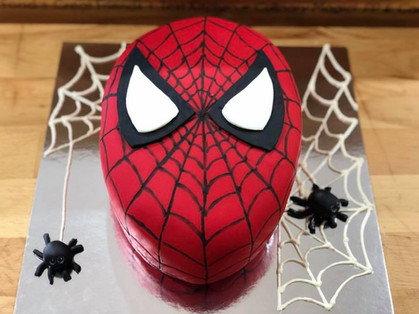 Spiderman Cake by Sweet Revenge