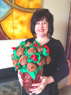 Custom Cupcakes Bouquet