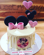 Minnie Cake for Arlo, Happy Birthday _)