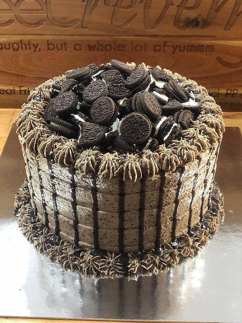 Choc Oreo Delight Cake