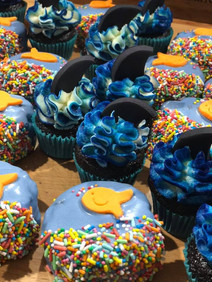 Ocean Themed Cupcakes by Sweet Revenge