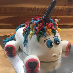 Pooped Unicorn Cake by Sweet Revenge