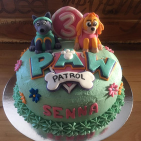 Paw Patrol themed Cake by Sweet Revenge
