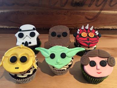 Star Wars Cupcakes by Sweet Revenge