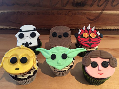 Star Wars Cupcakes by Sweet Revenge