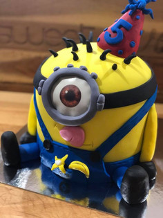Minion Cake by Sweet Revenge