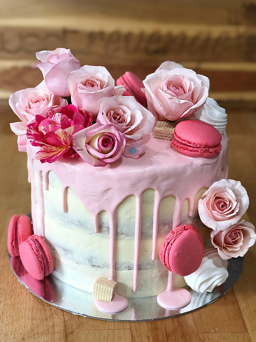 Floral Delight Cake