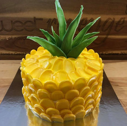 Margarita Flavoured Pineapple Cake