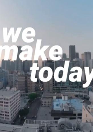 "Instagram ""We Make Today"""