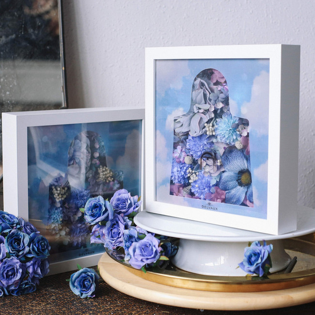 """""""Delvaux - The Surreal Flower Frame"""""""