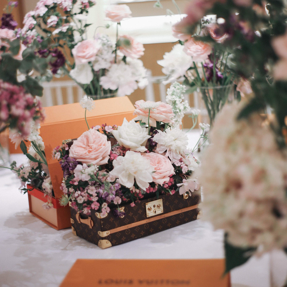 """Louis Vuitton - Flower Trunk Workshop"""