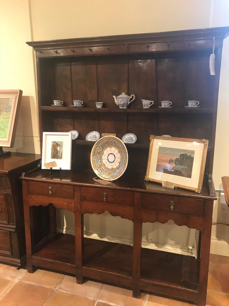 Georgian Oak & Elm Welsh dresser