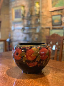 """Pomegranate"" vase by Moorcroft"