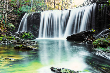 Middle Brasstown Falls