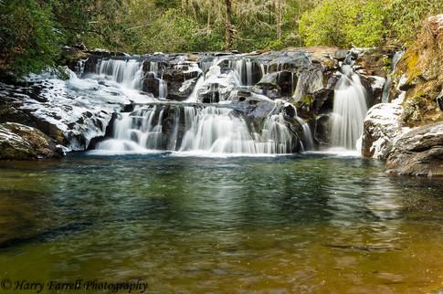 Waters Creek Falls on Dicks Creek