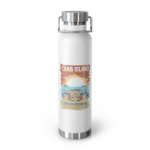 Crab Island 22oz Vacuum Insulated Bottle