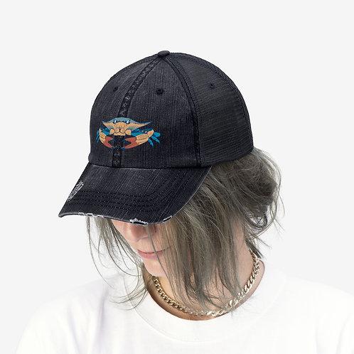 Blue Crab Unisex Trucker Hat