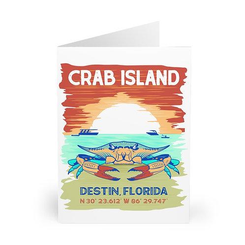 Crab Island Postcards (5 Pack)