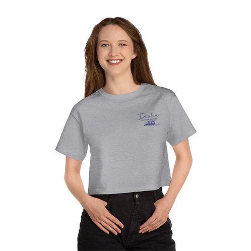 Crab Island Champion Women's Heritage Cropped T-Shirt