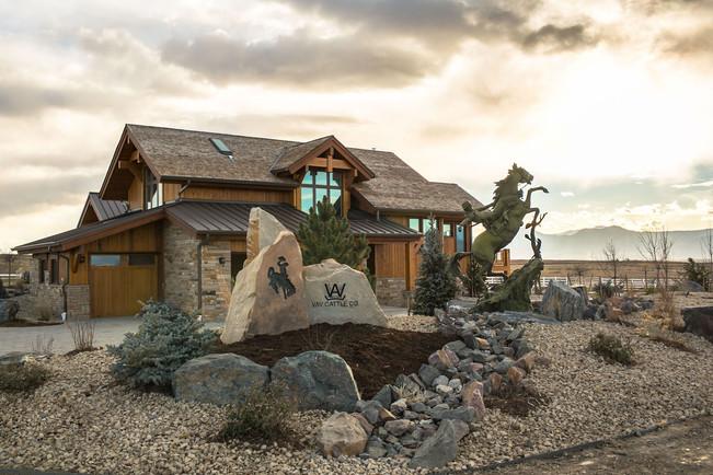 Luxury outdoor living space
