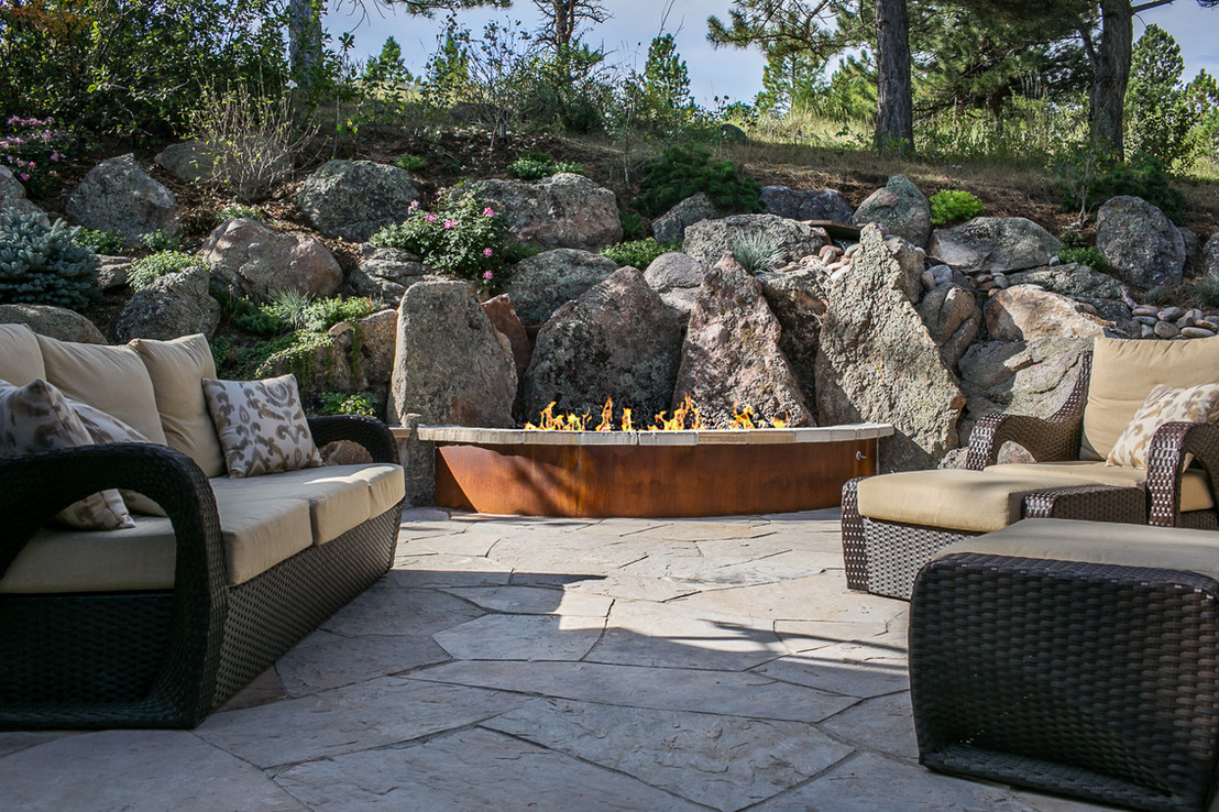 Natural outdoor living space