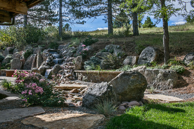 Natural outdoor living spaceNatural outdoor living space