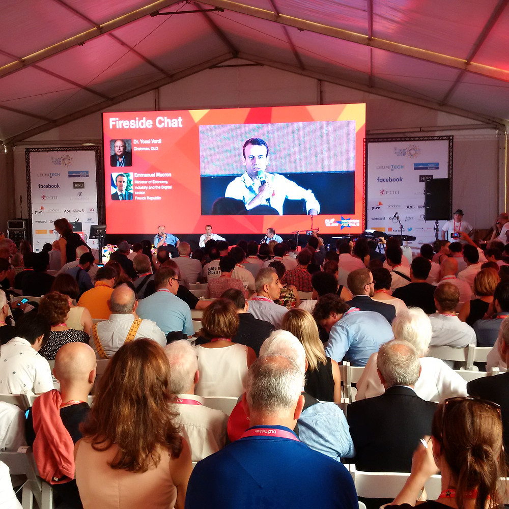 DLD Tel Aviv 2015 - Firesite chat at the conference