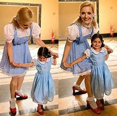 Dorothy e a mini Dorothy
