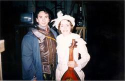 Com Fabio Armigliato Opera Don Carlos, de Verdi 1998