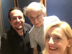 Gravação Clássical Tracks 2018 com Flavio Augusto e Tim Rescala