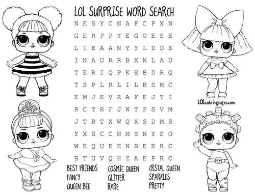 LOL Word Search 2
