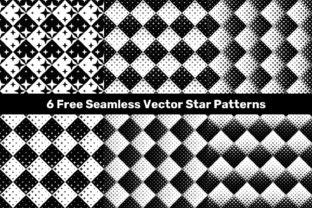 Seamless Vector Star Patterns