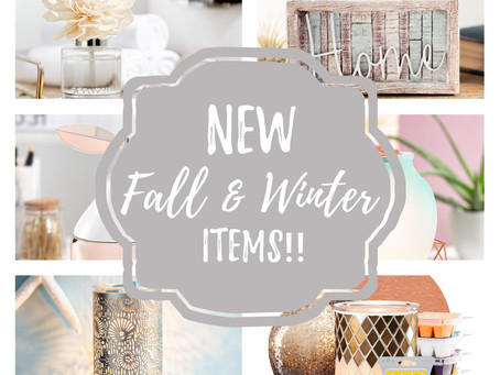 NEW FALL/WINTER ITEMS COMING SOON!!