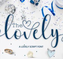 The Lovely - Font