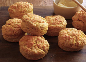 Easy Dinner Sides - Pumpkin Biscuits